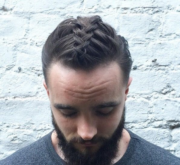 Looking for a new way to style your man bun hairstyle? Draw from ...