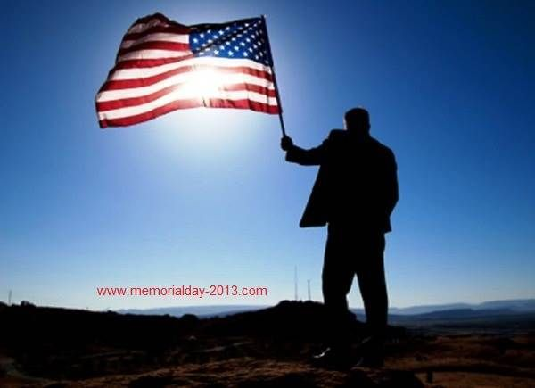 Flying American US Flag on Memorial Day 2013 Pictures, Images, Wallpapers