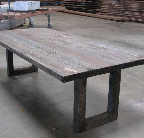 Perfect Reclaimed Timber Desk For Front Study TablesDining