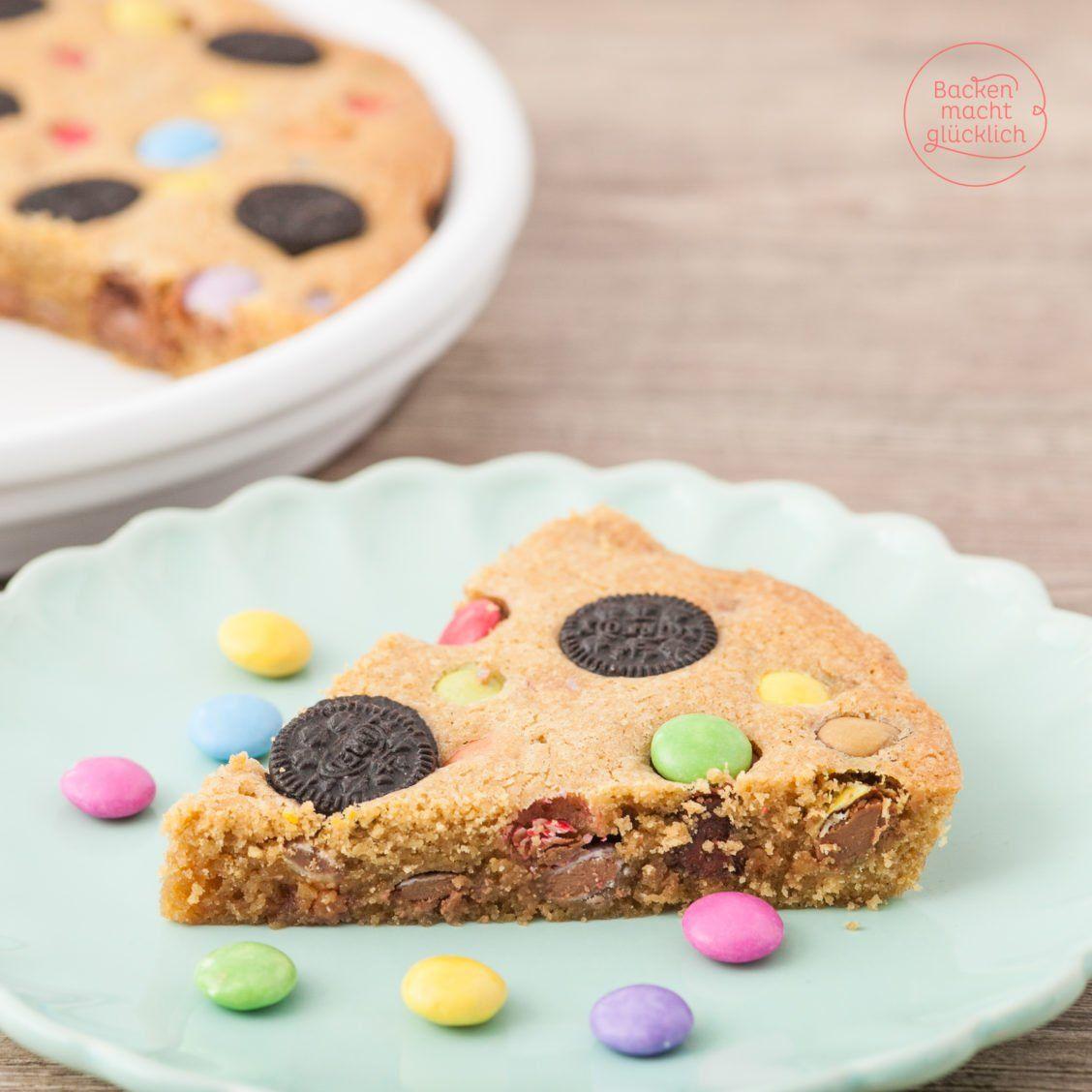 Cookie Pie mit Süßigkeiten