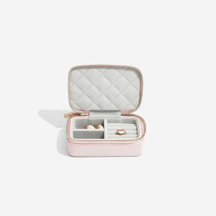 Blossom Pink Leather Travel Jewellery Box In 2019 Elena Travel