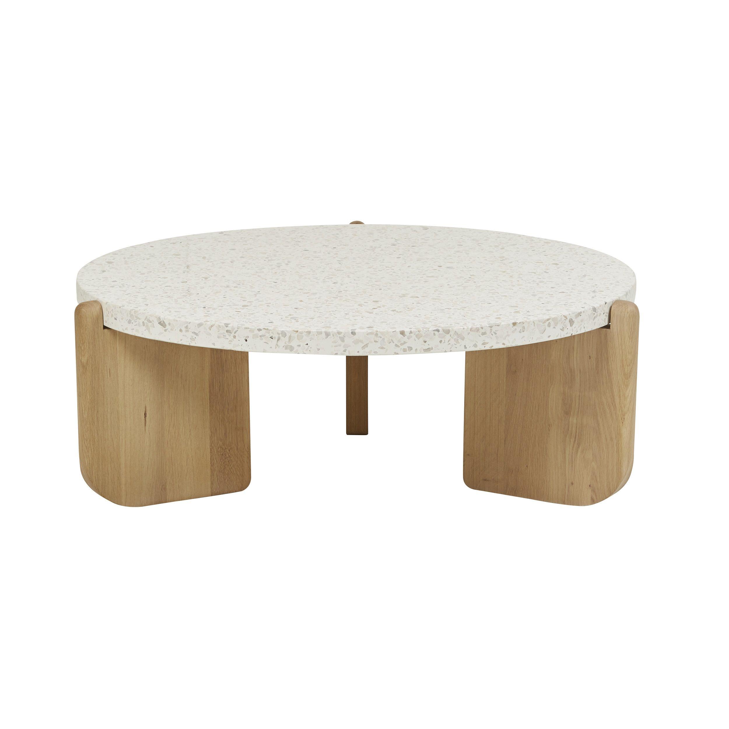 Sketch Native Round Coffee Table Terrazzo Muebles Disenos De Unas Mesas [ 2500 x 2500 Pixel ]