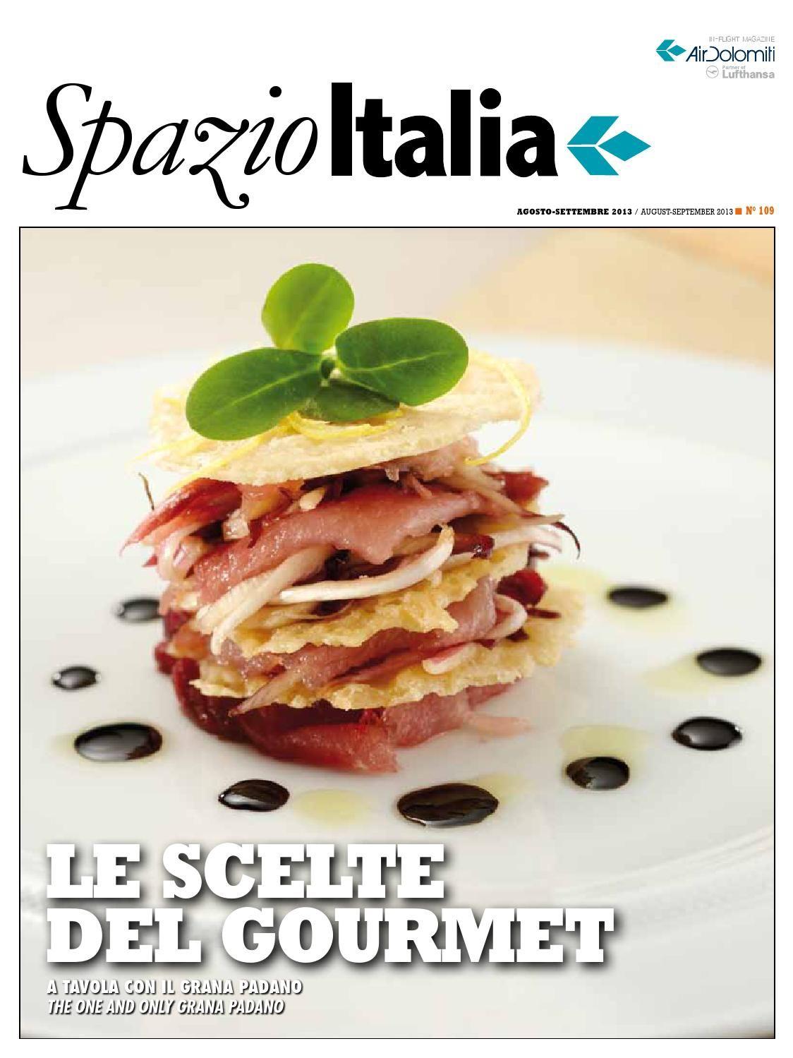 Spazio Italia Magazine no. 109  Here it is! The newest issue of #AirDolomiti #inflight #magazine #SpazioItalia - We hope you will enjoy reading and sharing it!