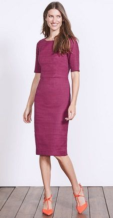 bc29b56052 Our daily workwear reports suggest one piece of work-appropriate attire in  a range of prices. This fitted dress from Boden looks fabulous -- although,  alas, ...