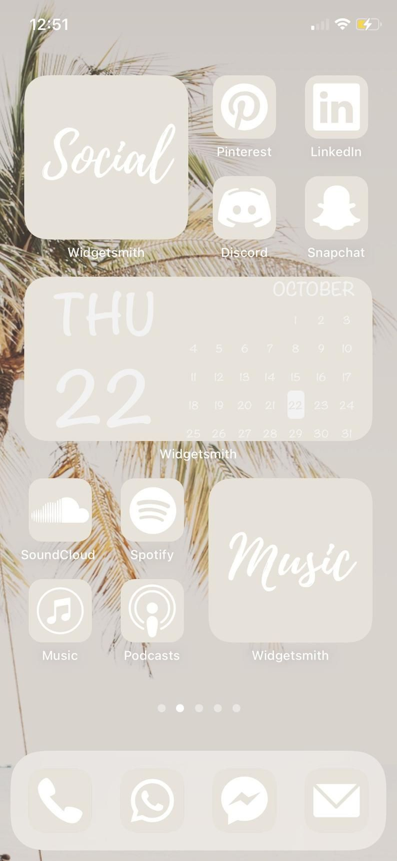 à couper le Souffle  Mot-Clé 350 Pack Cream Beige app icons for customizing home screen in   Etsy