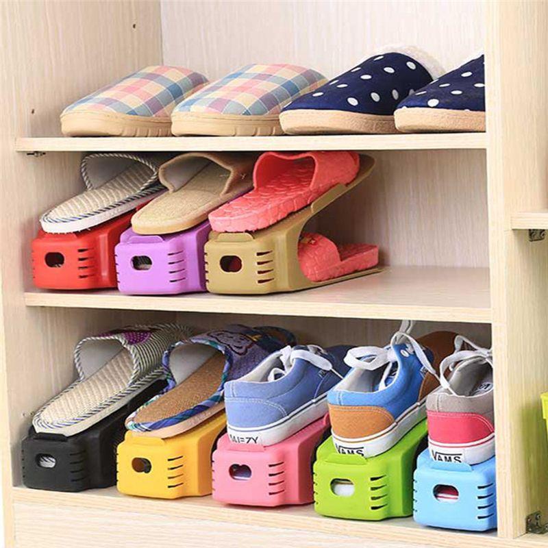 Rek Voor Schoenen.Goedkope Nieuwe Populaire Schoen Rekken Moderne Dubbele Schoonmaken