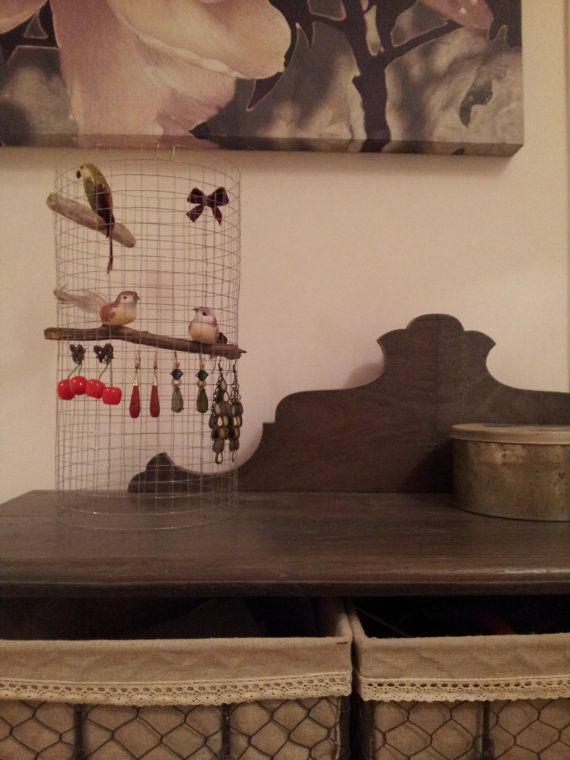 Porte bijoux oiseaux par mauricel sur Etsy, €25.00