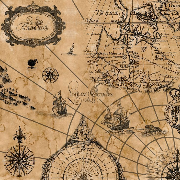 Vintage Sailing Map Текстуры, фоны Pinterest Tattoo, Tatoo and - best of background map of the world
