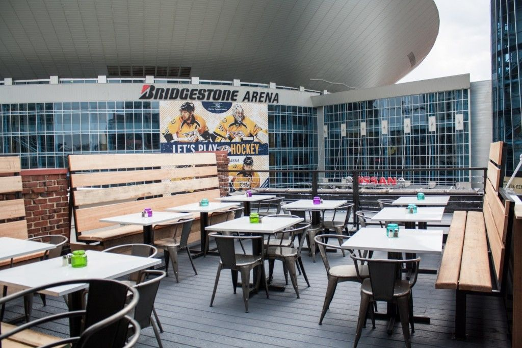 Rooftop Restaurants Nashville 135 Patios In Nashville The