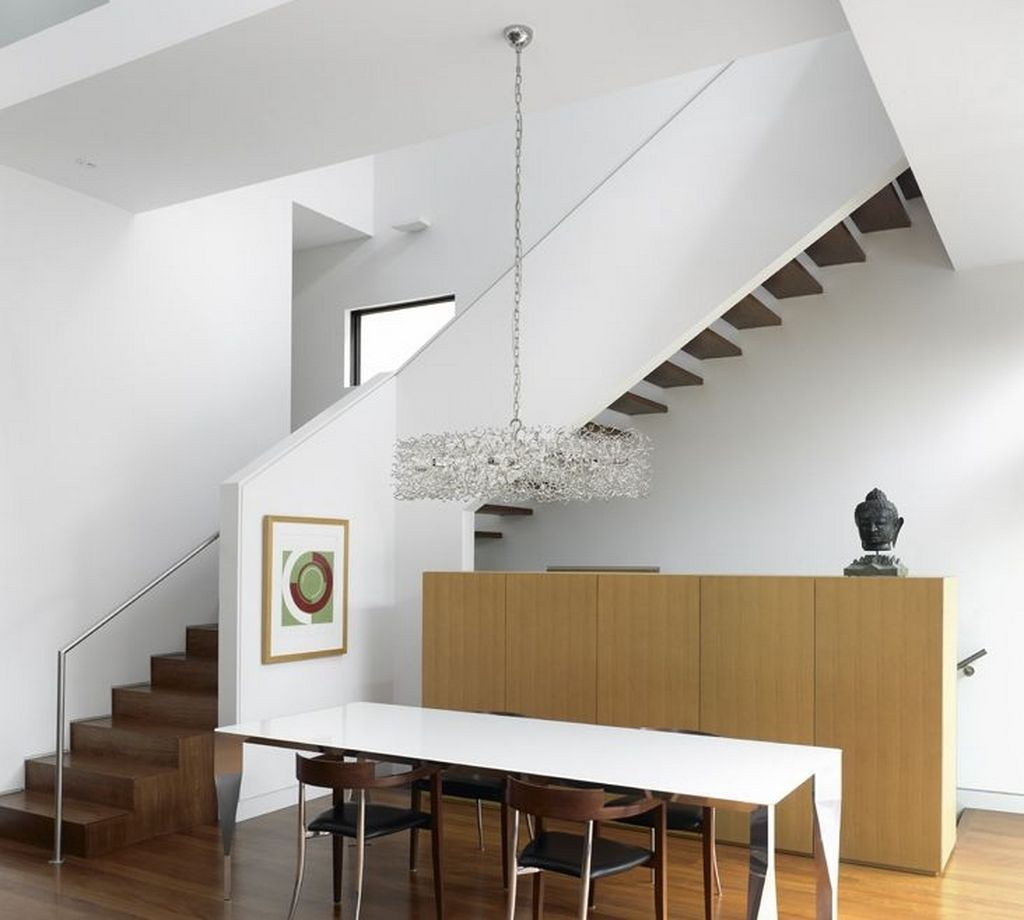40 Trending Modern Staircase Design Ideas And Stair Handrails: Stair Railing Double Height Space - Google Search