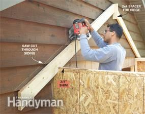 Get More Garage Storage With A P Out Addition