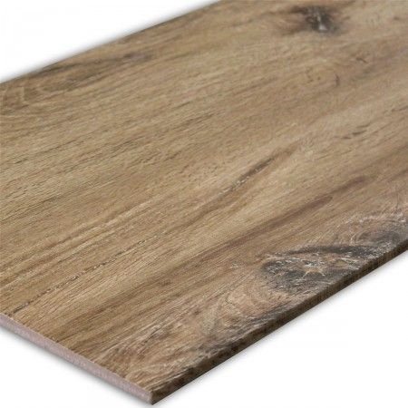 Holz Optik Boden Fliesen Edmonton Marrone 31x62cm   1 Paket