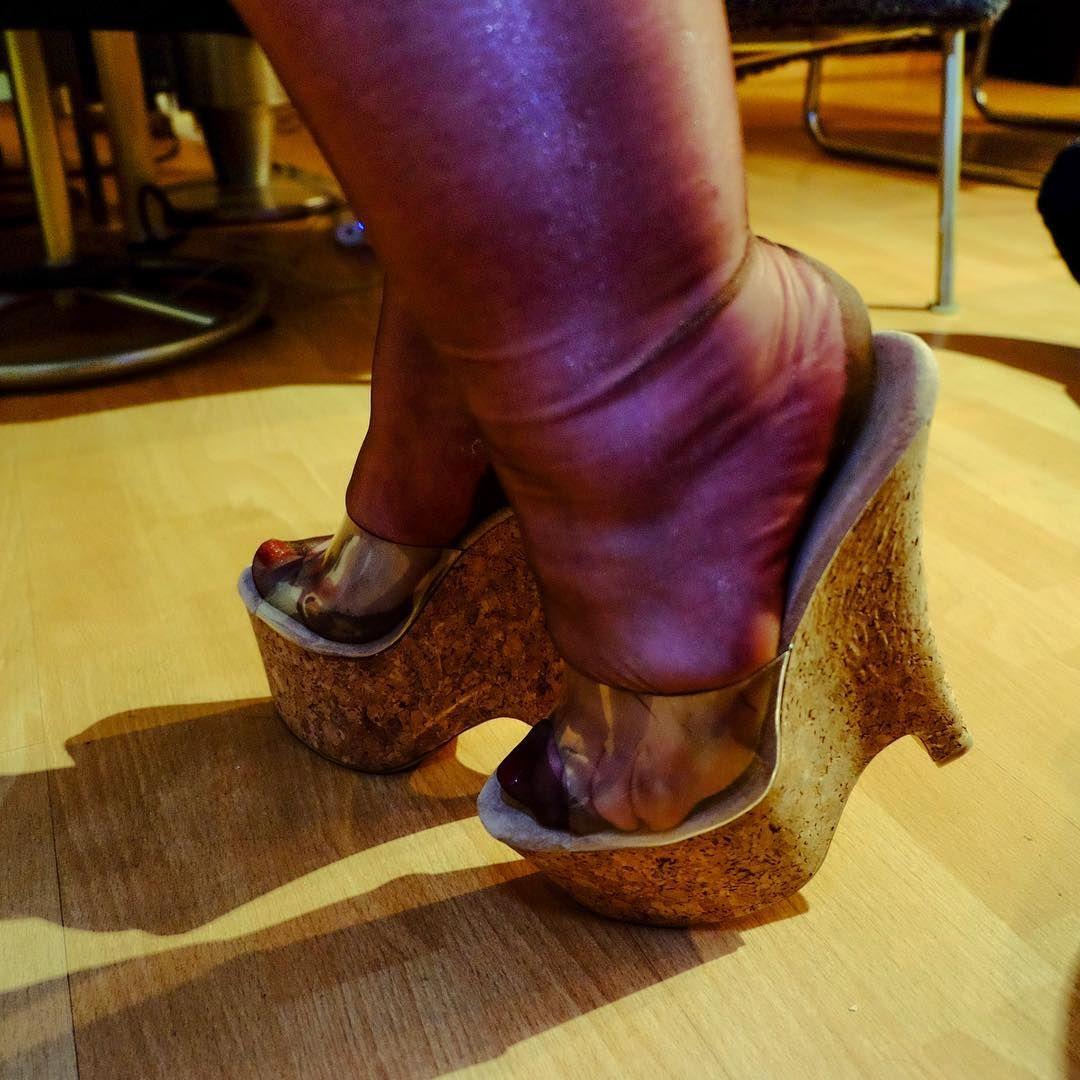 Bbw wife platform heels pictures