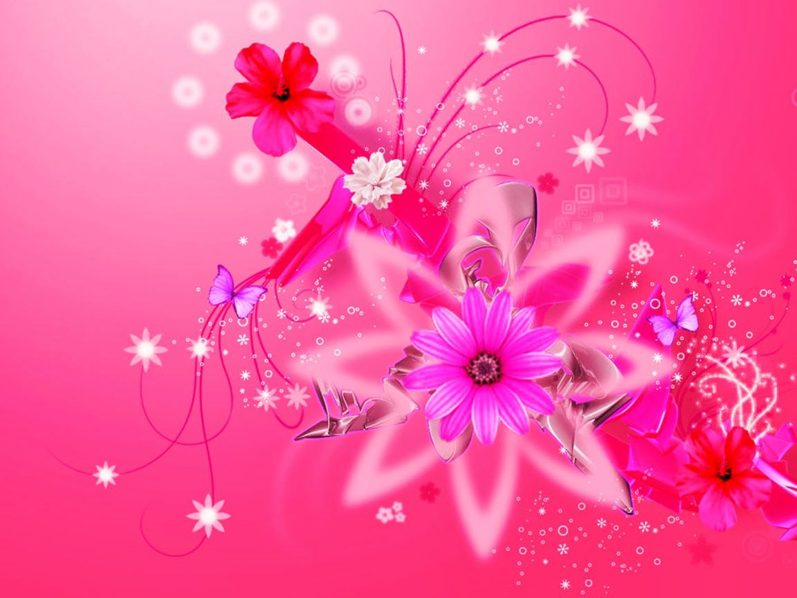 Awesome Girly Wallpapers Pink Floral Background Backgrounds Girly Pink Floral Wallpaper