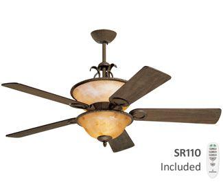 Emerson Cf160rti Rustico 52 Ceiling Fan Design Ceiling Fan Modern Ceiling Fan Ceiling fans with uplights