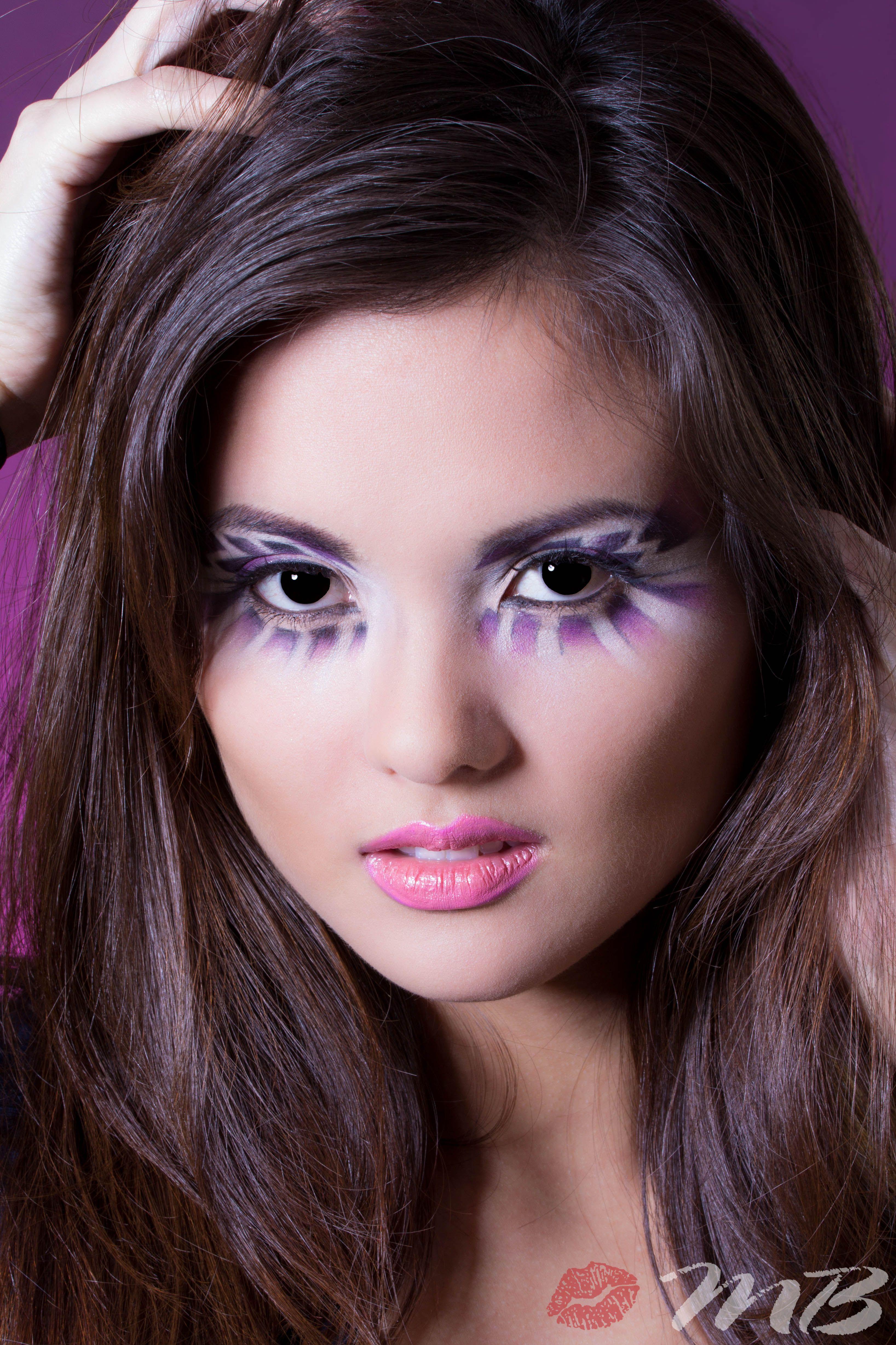 Aztec Inspired. Purple eyeshadow makeup Purple eyeshadow