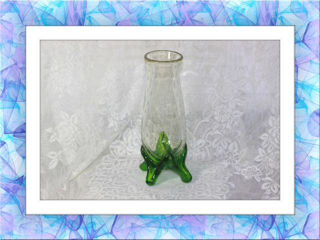Studio Art Glass Raindrop Murano Footed Stretch Vase. Starting at $25