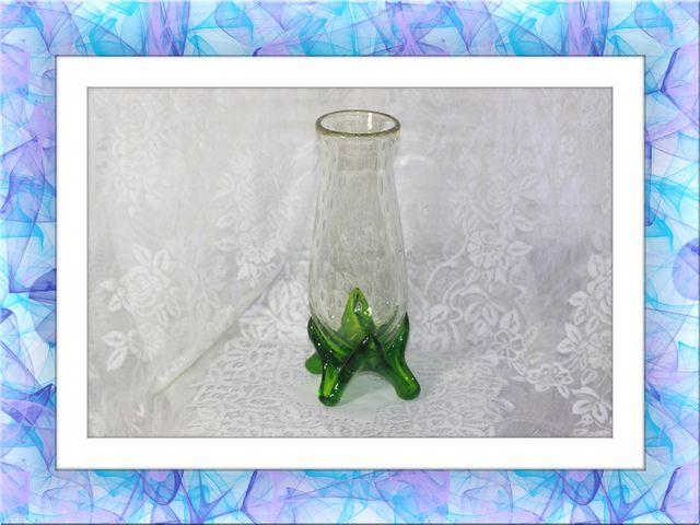 Studio Art Glass Raindrop Murano Footed Stretch Vase. Starting at $25
