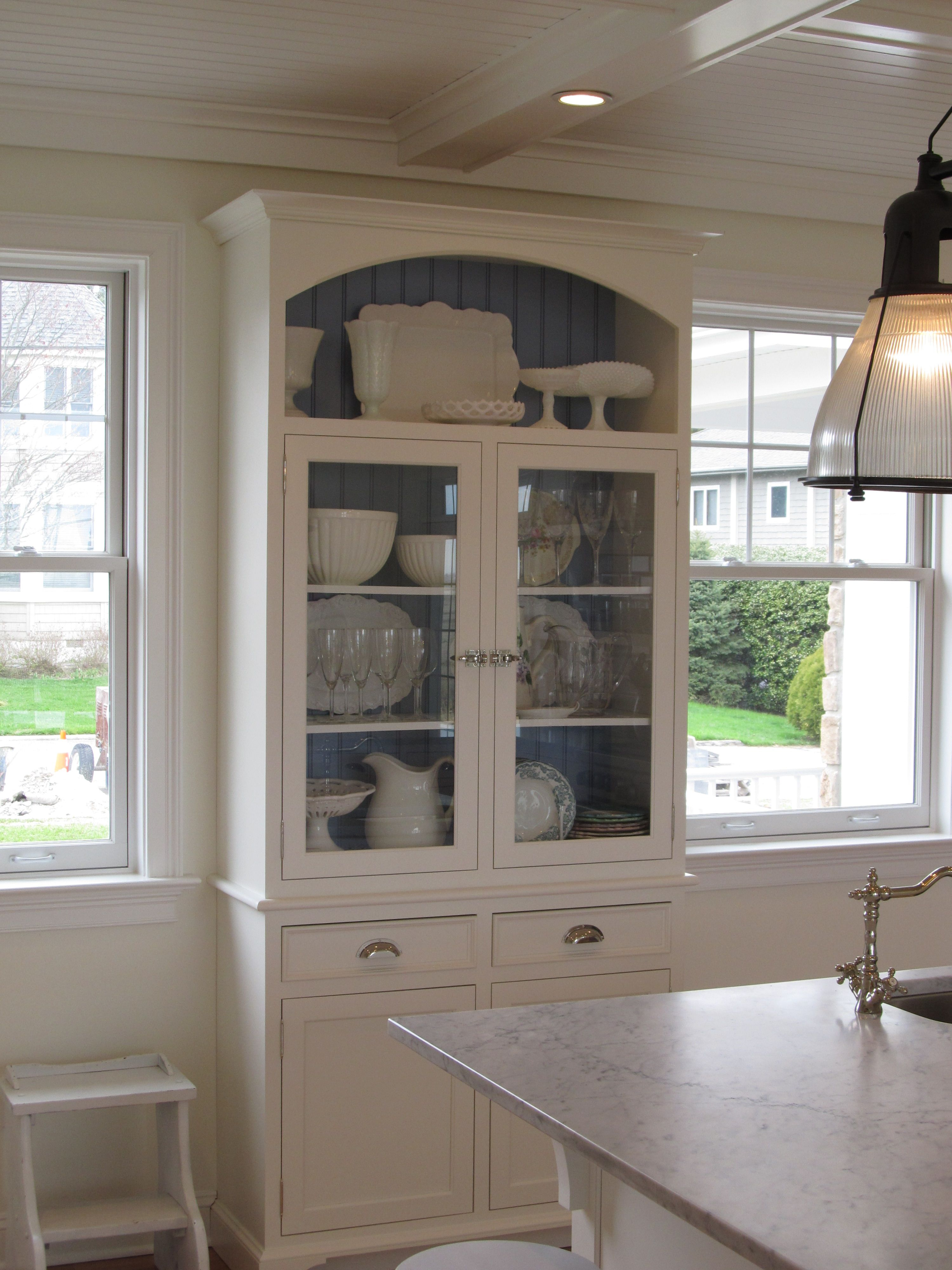 Custom Kitchen Designed By Churchville Kitchen U0026 Home Design, White Painted  Cabinetry, Wood Paneled
