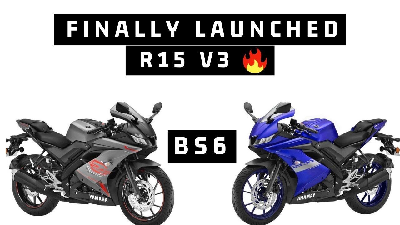 Finally Yamaha R15 V3 Bs6 Launched In 1 45 Lakhs 4 New