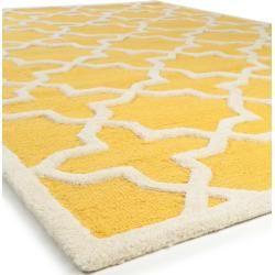 Photo of benuta Naturals Wollteppich Windsor Yellow 80×150 cm – Naturfaserteppich aus Wolle