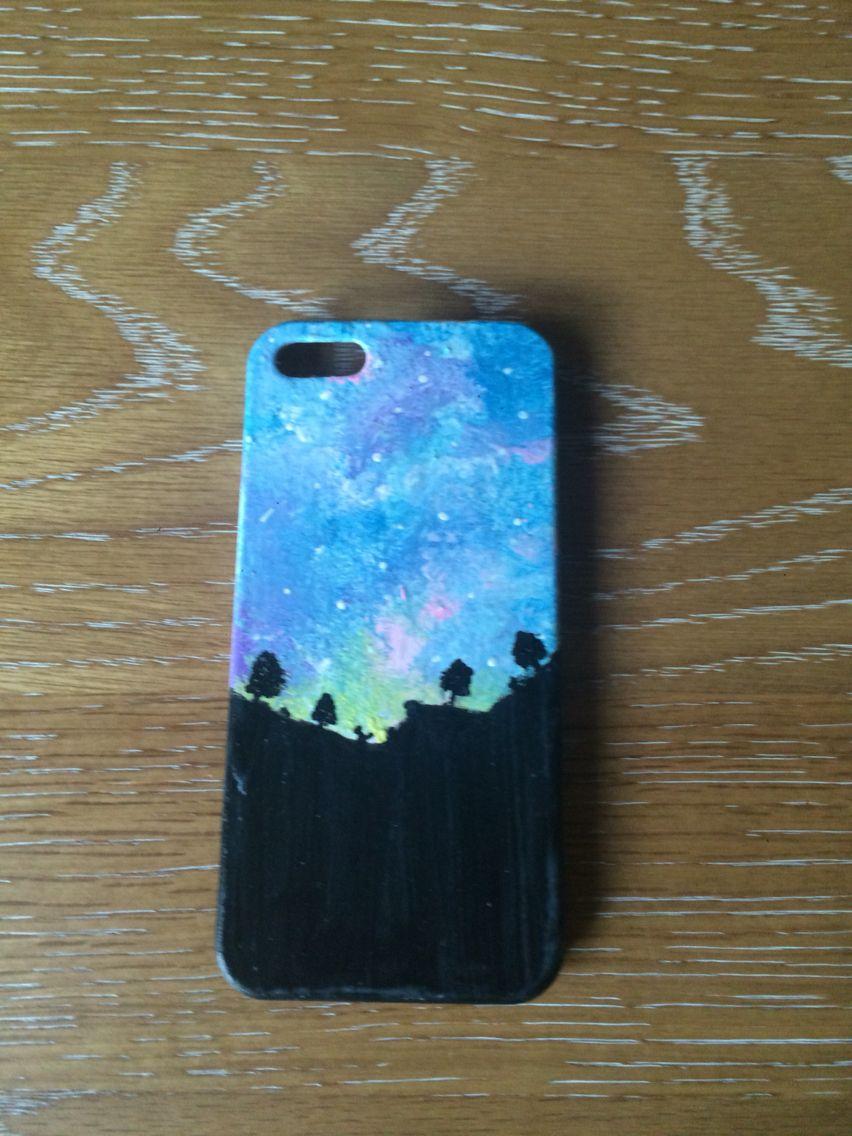 Diy Handpainted Phone Case Phone Case Diy Paint Diy Phone