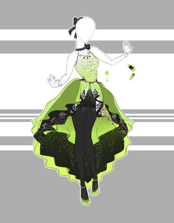 Would Be Prettier In Another Color Anime Dress Fashion Design Drawings Dress Drawing