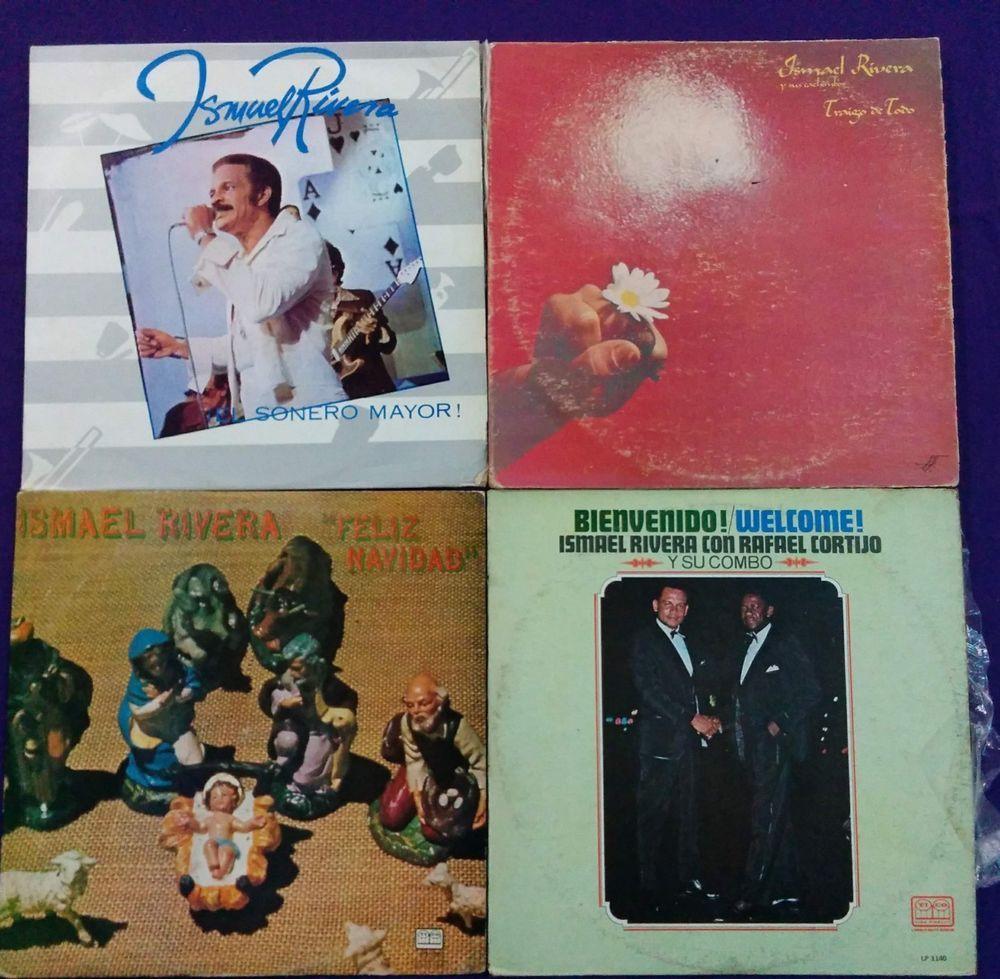 Ismael Rivera Lot X 4 Lps Combo Salsa Guaguanco Venezuela Issue Salsa Vinyl Store Lps Record Store