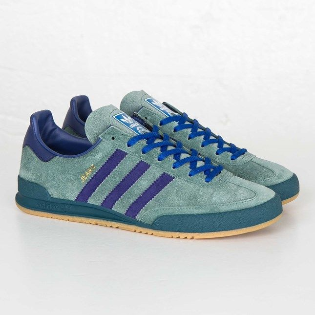 adidas Jeans debuted in 1975 as - yeah, you guessed it - a shoe that was  supposed to go well with jeans. In 1979 the Jeans was updated with a heel  ...