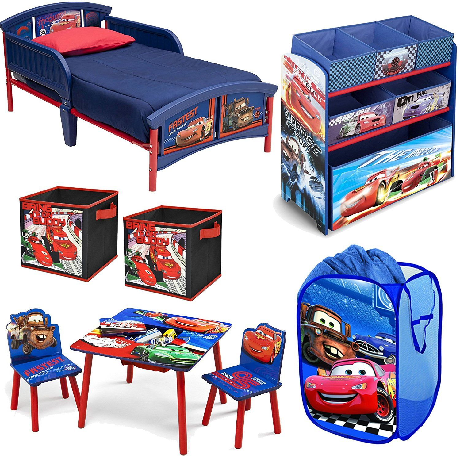 Peachy Disney Delta Children Pixar Cars Lightning Mcqueen And Mater Pdpeps Interior Chair Design Pdpepsorg