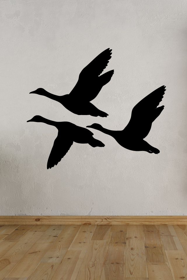 Decals That Dazzle Flying Ducks Wall Decal 15 00 Bird Art