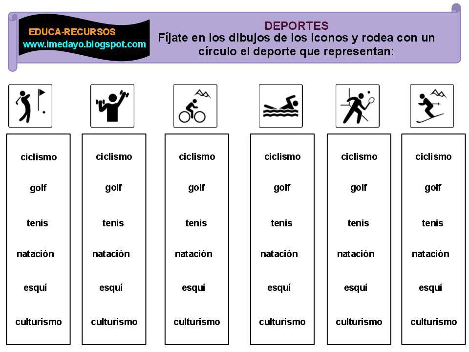 Fichas De Educación Física Educacion Fisica Actividades Educacion Fisica Clases De Educación Física