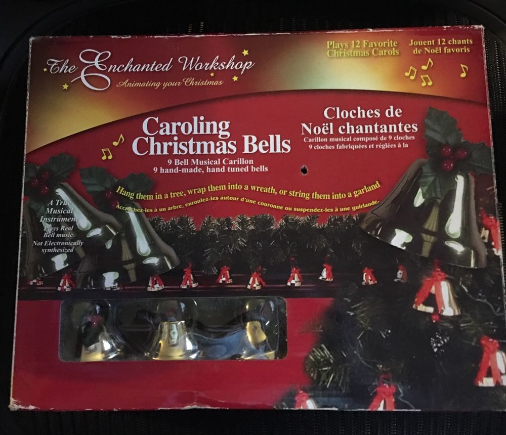 caroling christmas bells 9 bell carillon 12 carols enchanting workshop watch