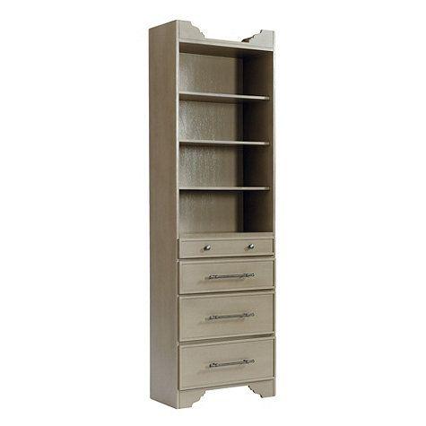 Closet Sarah Storage Tower Drawers Shelves Ballard