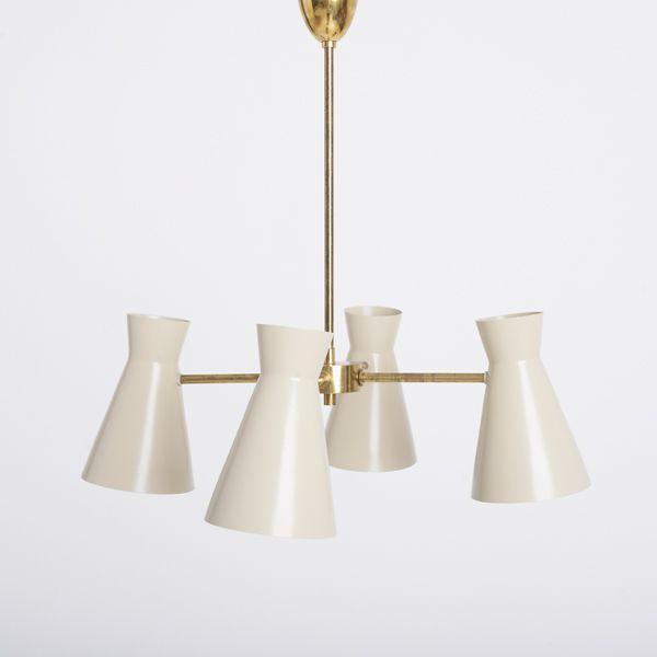 1960s Italian Light Fitting Contemporary Ceiling Light Light
