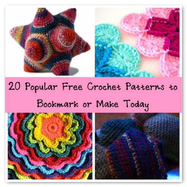 popular free crochet patterns | Patterns | Pinterest | Popular ...