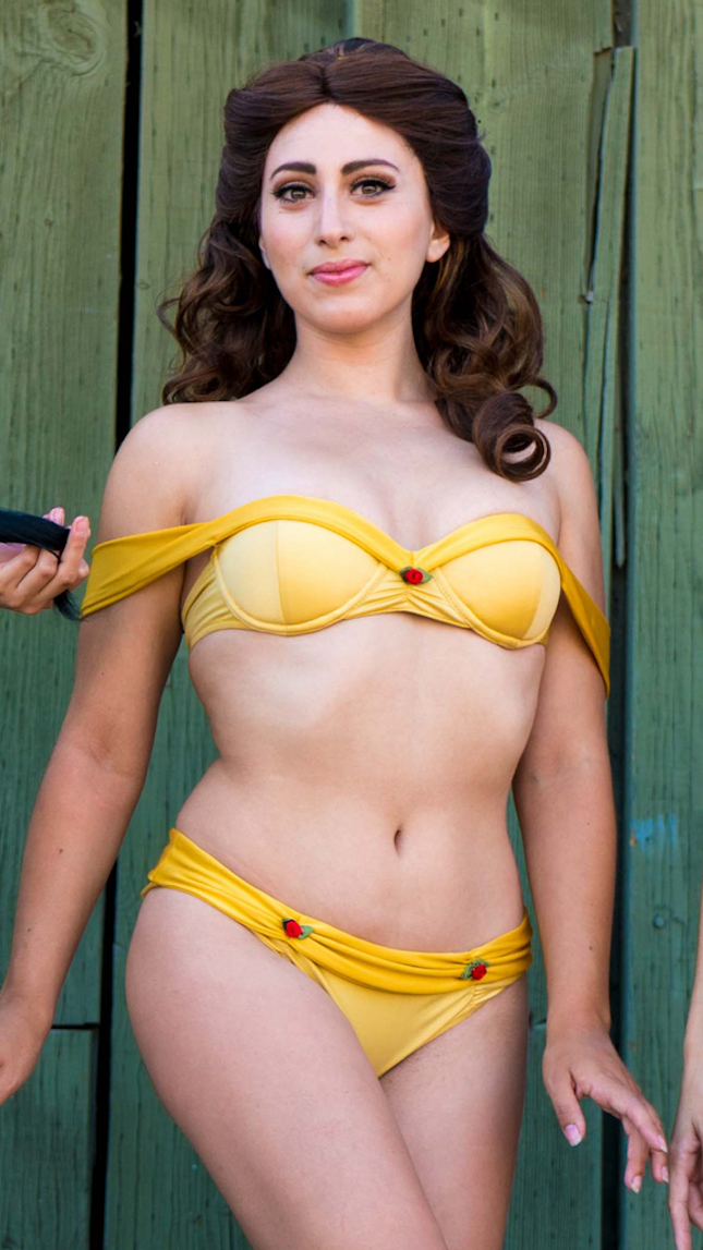 7e83ea6c76 These Disney Princess Bikinis Are Here to Let You Unleash Your Inner Ariel  via Brit + Co