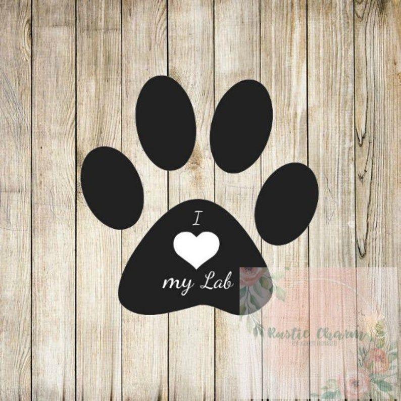 22+ I Love My Labrador – Svg Design