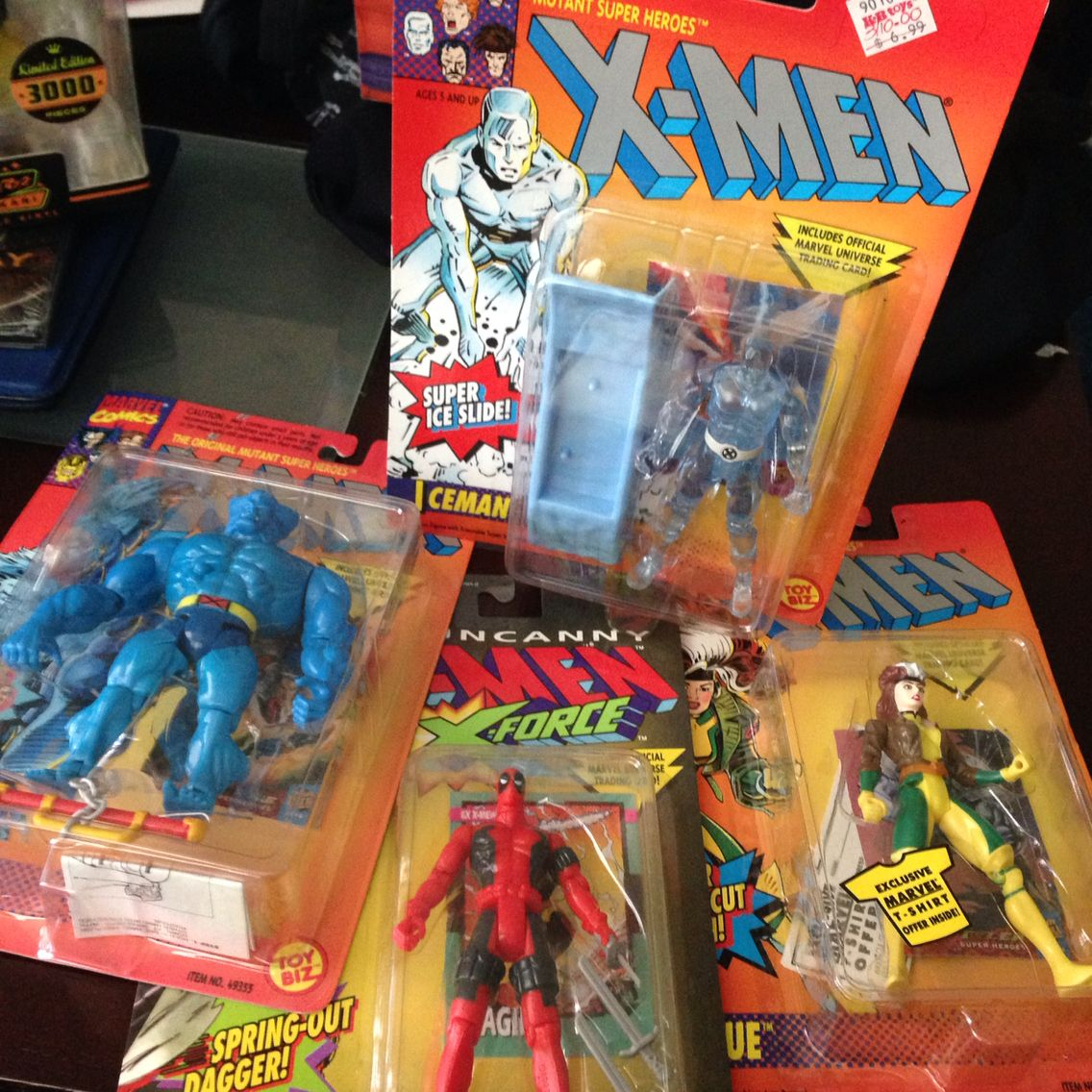 scooped up some 90 s x men figures from toy biz they ranged from 2