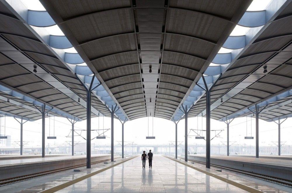 Tianjin West Railway Station / gmp architekten