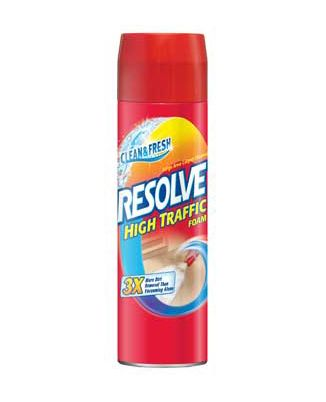 Resolve Carpet Cleaner Foam As Grout Cleaner Or Oreck