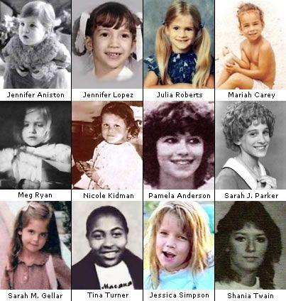 Celebrities As Kids