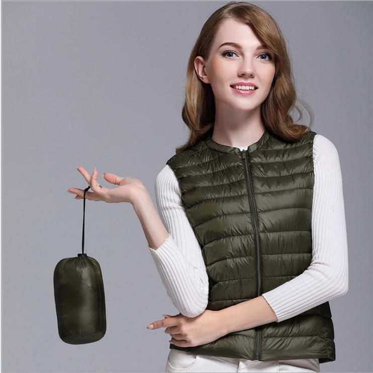 2ffb5330aa7 Winter Women Slim Down duck Warm Coat Jacket Sleeveless Vest Waistcoat  veste femme manteau femme hiver #downcoat #coat #jacket #hooded #style  #duck #parkas ...