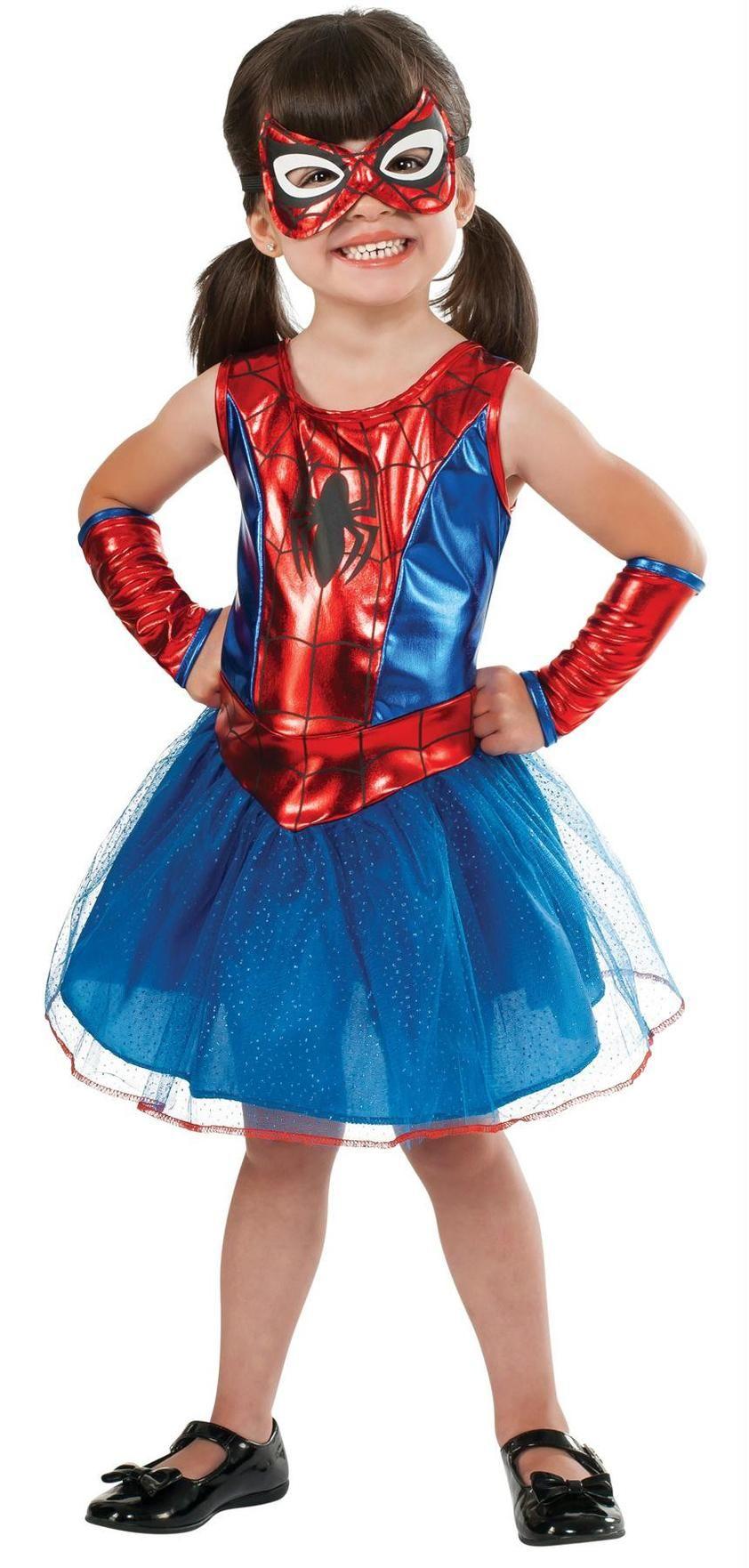 Spidergirl Child Small Spider girl costume