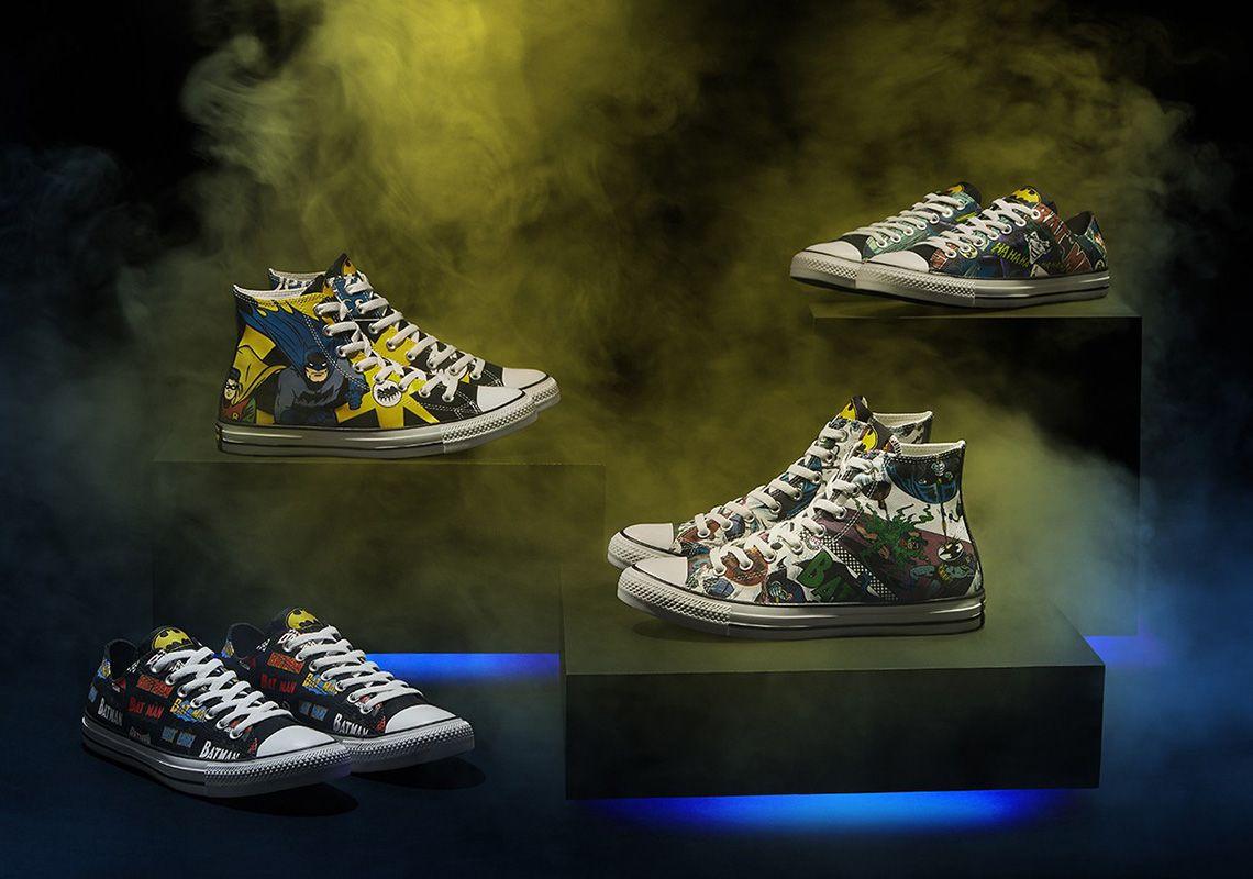 Batman x Converse Sneaker Collection Revealed: Release