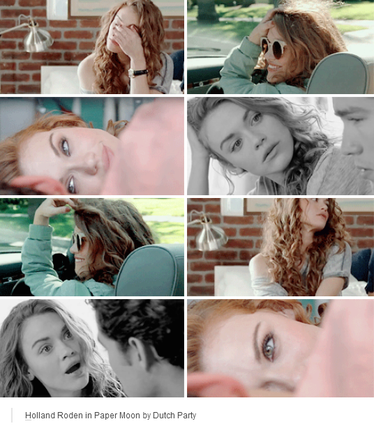Holland Roden in Paper Moon by Dutch Party