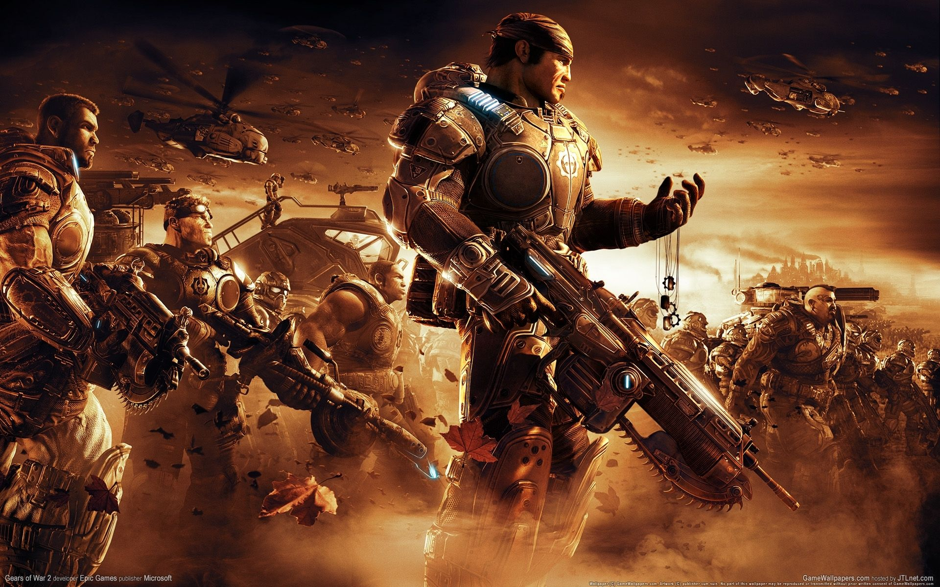 10 New Gears Of War 2 Wallpaper Full Hd 1920 1080 For Pc Desktop Gears Of War 3 Gears Of War Pantalla De Pc
