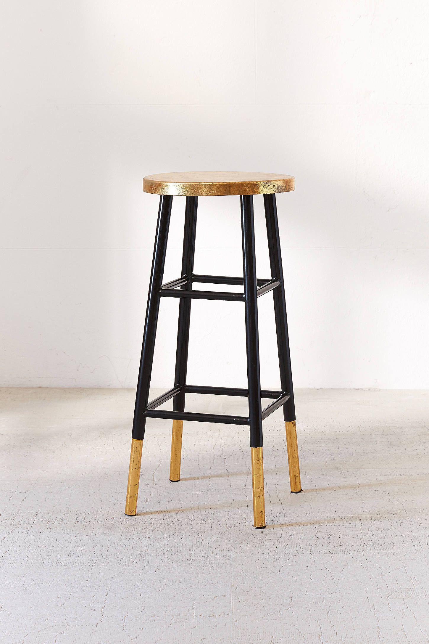 Emery gold bar stool gold bar stools bar stool and stools