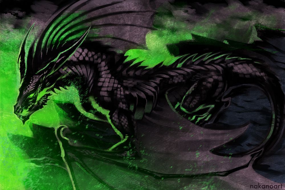 17++ Dragon green ideas