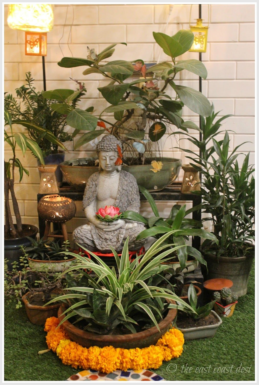 Keeping It Elegantly Eclectic (Home Tour) Buddha decor